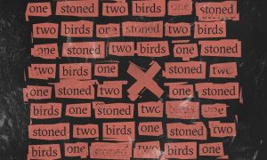 Two birds One Stoned - Cross