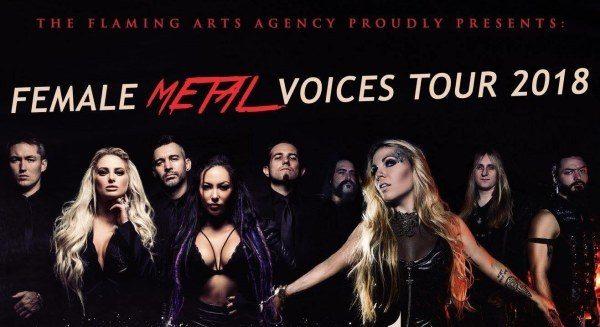 Asphodelia si unisce a Butcher Babies e Kobra And The Lotus per il Female Metal Voices Tour
